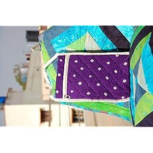 Reinvention Purple Printed Sling Bag