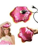 STAR HEALTH RECHARGEABLE HEATING PAD Flower Shape