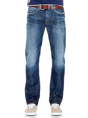 Pepe Jeans London Vaquero Cash (Azul Medio)