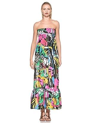 Emamò Vestido Largo Nicole (Multicolor)
