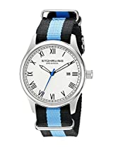 Stuhrling Original Leisure Analog Silver Dial Unisex Watch - 522.01