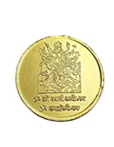 Mahakali Yantra Coin 10gms In Copper Gold Plated Blessed And Energised