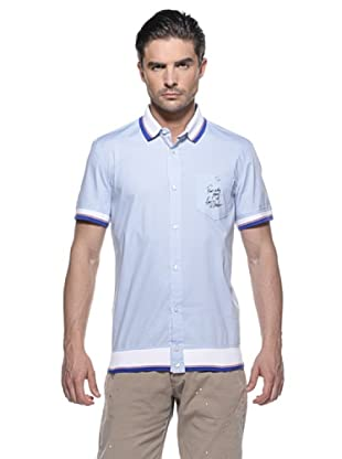 Love Moschino Camisa Polo (Azul)