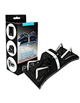 Aweek Dual Shock Charging Station Dual Usb Charging Dock Charger Station Stand + Usb Charging Cable For Ps3 Play Station 3 Controller Black Charger