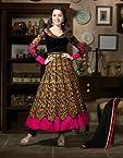 Shraddha Kapoor Black Embroidered Anarkali Suit - SUKHW1109