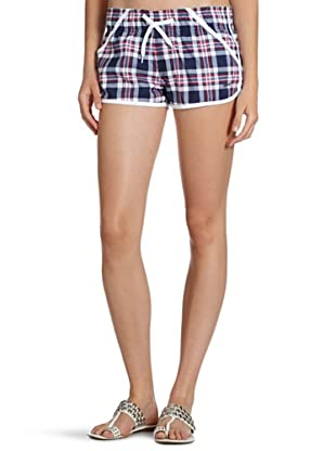 ESPRIT Bodywear Damen Shorts, kariert Z9045/BEACON S BEACH (Blau (DG))