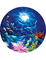 "Jigsaw Puzzle Round 500 Pieces 18.25"" Diameter-SeaScapes-Evening Romance"