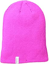 Coal Men's Frena Solid Unisex Beanie, Neon Pink, One Size