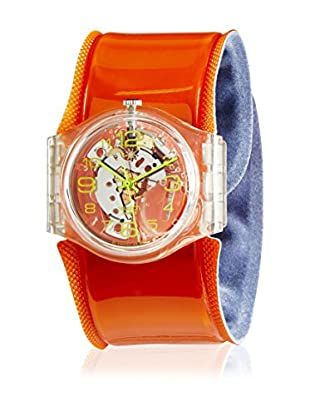 Swatch Quarzuhr Unisex Orange Spring GK348C 34 mm