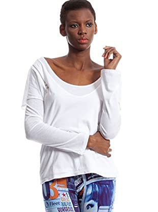 Custo Camiseta (Blanco)