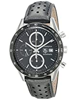 TAG Heuer Mens CV2010.FC6205 Carrera Automatic Chronograph Leather Watch