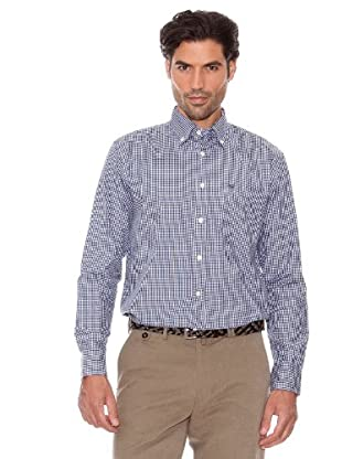 Pedro Del Hierro Camisa Cuadros (Marengo)