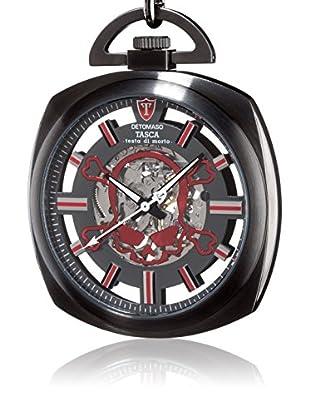 DETOMASO Uhr mit Handaufzug Testa schwarz