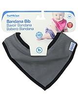 Bumkins Waterproof Bandana Bib, Gray, 0-9 Months