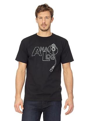 ANALOG Herren T-Shirt Analog Ana Jam Basic (Black)