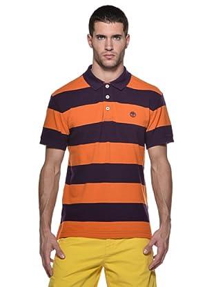 Timberland Polo Rayas (Violeta/Naranja)