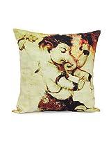 Giftsbymeeta Abstract Ganesha Cushion (12x 12) GIFTS3312