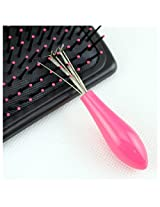 Durable Mini Comb Hair Brush Cleaner Embeded Tool Salon Home Essential Item