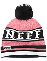 Neff Big Boys' Youth Champion Cuff Pom Beanie
