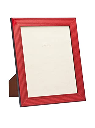 Ricci Bengale High Gloss Wood Photo Frame, Red/Black, 5