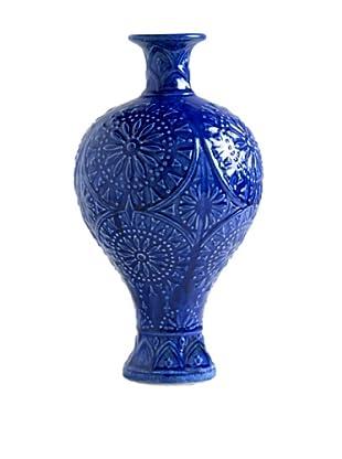 Shiraleah Morena Urn Vase (Indigo)