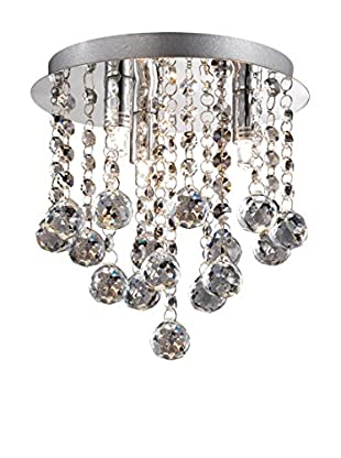 Evergreen Lights Deckenlampe Bijoux PL3 silberfarben