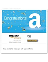 Congratulations! - E-mail Amazon.in Gift Card