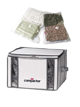 Compactor Set Funda Ahorra Espacio Compactino 125 L + 2 Bolsas Compress