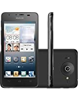 "Huawei Ascend G510 Dual Core 4.5"" IPS Android Smartphone (GSM Factory Unlocked) - Dual Core, 4.5"" IPS Screen, Dual Cameras, 3G 900/2100 MHz - Black"
