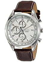 Seiko Analog White Dial Men's Watch - SSB181P1