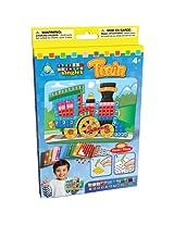 Orb Factory SMSINGLE-64631 Sticky Mosaics Singles Kit, Train