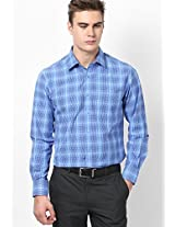 Blue Full Sleeve Formal Shirt Peter England