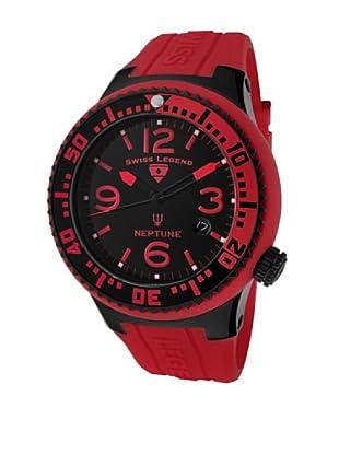 Swiss Legend Reloj Neptune Rojo