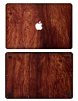 "XGear EXO Skin Protective Vinyl for MacBook Pro 13"" Retina (Wood Grain Bubinga)"