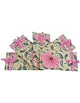 Twinkle Creation Handmade Paper Envelope With Heart Design-19 cm X 9.5 cm