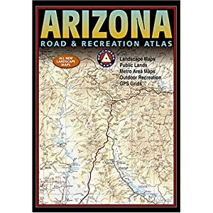 【クリックで詳細表示】Benchmark Arizona Road & Recreation Atlas (Streetfinder Atlas) [地図]