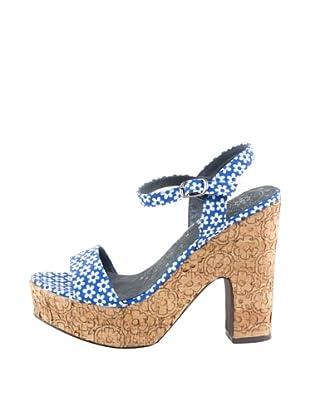 Rizzo Sandalias Flores (Azul)