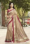 Bhagalpuri Silk Saree in Beige 11441