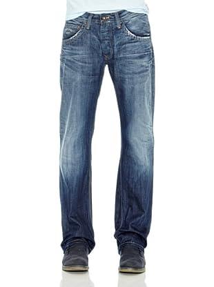 Pepe Jeans London Pantalón Vaquero Jeanius (Azul)