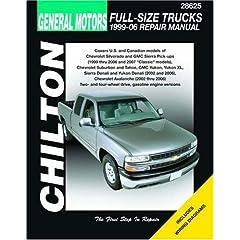 【クリックで詳細表示】General Motors Full-Size Trucks, 1999-06: Repair Manual (Chilton's Total Car Care Repair Manual): Jeff Kibler: 洋書