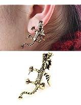 Vintage Wing Dragon Earring (BKCHJ001)