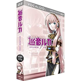 VOCALOID2 LN^[{[JV[Y03 J MEGURINE LUKA