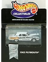 Hot Wheels Collectibles 1963 Plymouth - Multi-piece Car