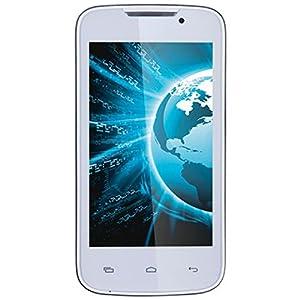 Lava Iris 402 Plus Dual SIM Smartphone, White