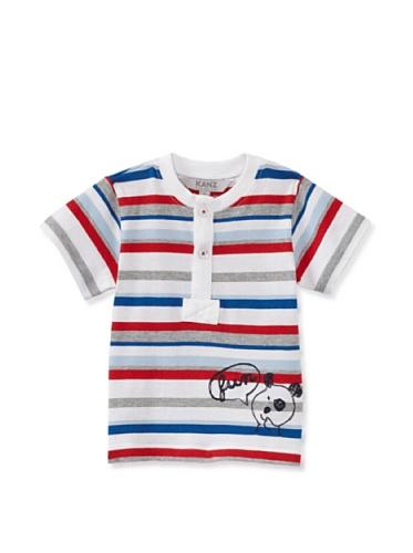 KANZ Baby Henley Tee (Stripe)