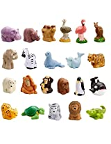 Fisher Price Little People Zoo Animal Friends Set Of 22