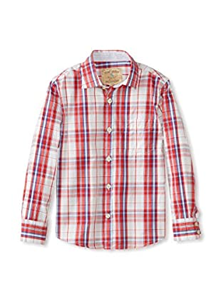 Rose Pistol Boy's Long Sleeve La Jolla Checked Shirt