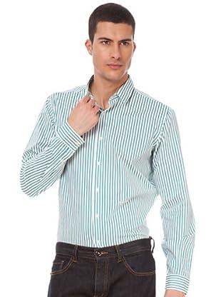 Armand Basi Camisa (Verde / Blanco)