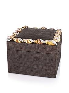 Seaside Cottage Newport Jewelry Box (Walnut)