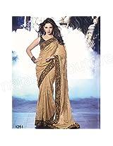 Tamanna Cream Silk Jacquard Saree
